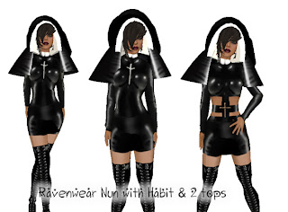 Talented latex nun outfit apologise, but