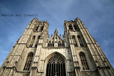 Dica de Bruxelas - Catedral de Saints Michael & Gudule