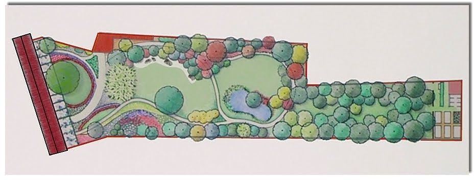 Verdiprogetti architettura del paesaggio progetto for Disegno giardini