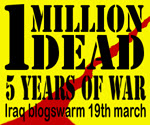 ANTI-WAR! REAL CHRISTIAN: MARCH 19 IRAQ WAR BLOGSWARM
