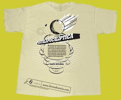 t-shirt Livros de Areia