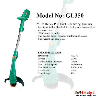 Tool help u black and decker strimmer - Coupe bordure black et decker gl350 ...