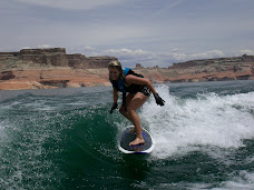 One of my Favorite things to do... Wake Surf!