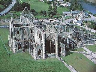 The Cistercian Abbey of Tintern..Chepstow Wales