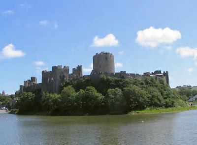 Pembroke Castle,Pembrokeshire.. on the West coast of Wales