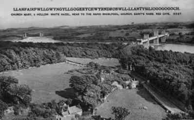 The magnificent Menai Bridge connecting the main-land Wales to its NW island of Anglesea where over 500 Druids and Bards were slaughtered by the Romans in the 1st century AD.