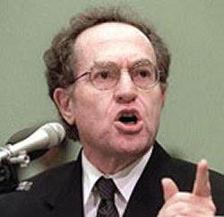 Prof.Alan Dershowitz real slimeball
