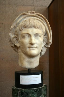 Here is one of the very few busts of the infamous 'Nero'..Do you think he would have left Rome burn if Doug Herman were around..Which one would adopt the Fiddler On The Roof approach??...if you get the nuance