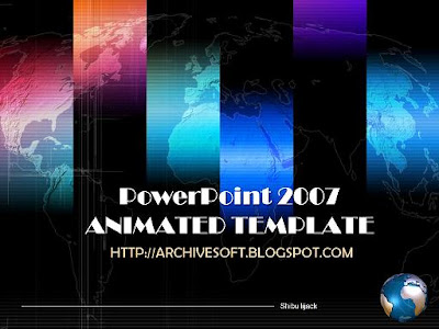 Animated PowerPoint 2007 Templates 15 Templates | 6.2 MB | RS & ES