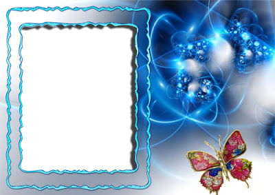 Hermosos marcos para fotos – PSD Template para Photoshop