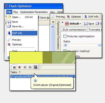 ����� ������ Flash Optimizer