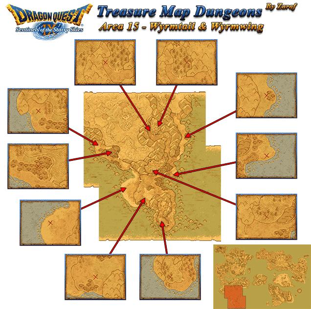 Dragon Quest 9 Treasure Maps - GamingReality