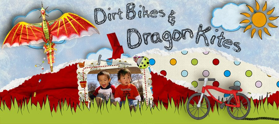 Dirt Bikes and Dragon Kites