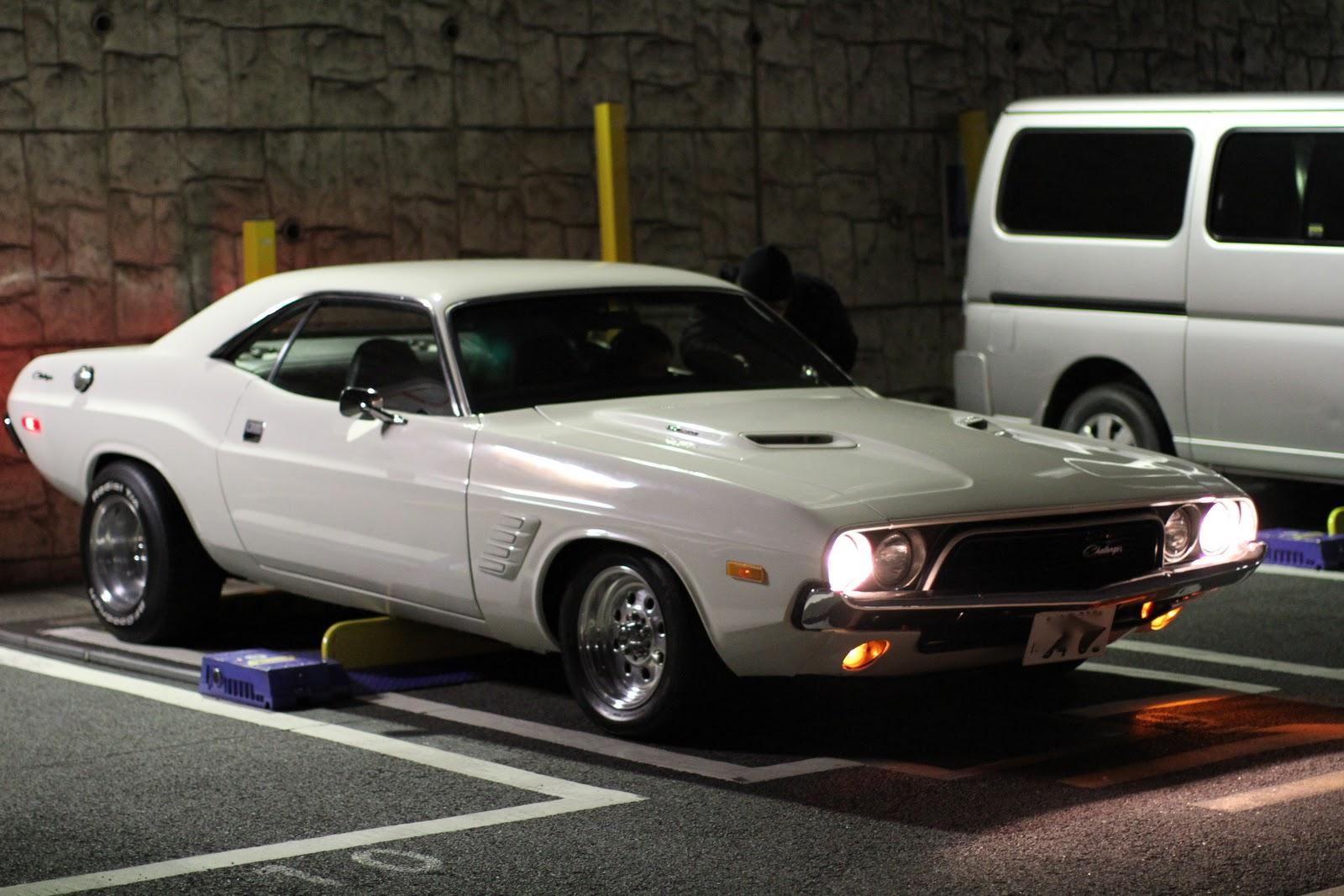 Cross Bone Mc Forever 73 Dodge Challenger