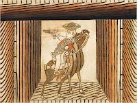 Martin Ramirez Cowboy on Horse