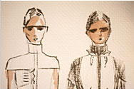 Alice Roi Sketches Fall 2007 Collection