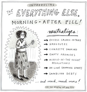Roz Chast The Everything Else Morning-After Pill