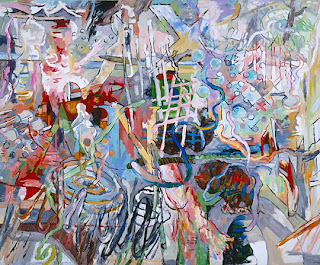 Uwe Kowski Angst painting