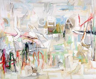 Uwe Kowski Gerade painting