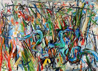 Uwe Kowski Fluss painting