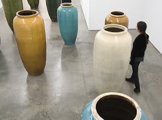Huang Yong Ping Vases