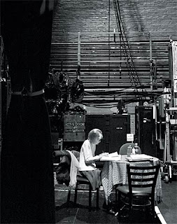 Year of Magical Thinking Joan Didion back stage