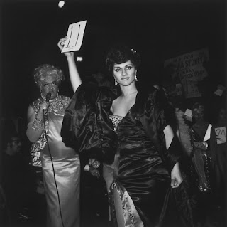 Nan Goldin Colette Modeling in the Beauty Parade photograph