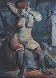 GEORGES ROUAULT Fille Femme aux Cheveux Roux