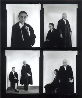 ARNOLD NEWMAN Alfred Stieglitz and Georgia O'Keeffe