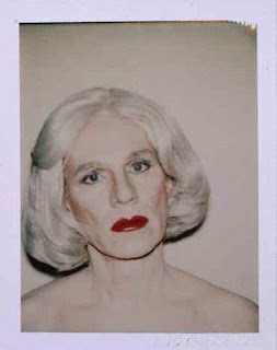 ANDY WARHOL Self-portrait in Drag