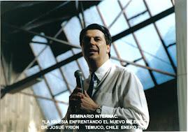 Pastor Josué Yrion en Chile Temuco