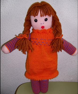 Esta bonita muñeca la realizó una de las facilitadoras del curso de  Ganchillo Punto al cual asisto 9ac6842c4c3
