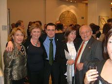 Con diputados en la fiesta navidades 2007
