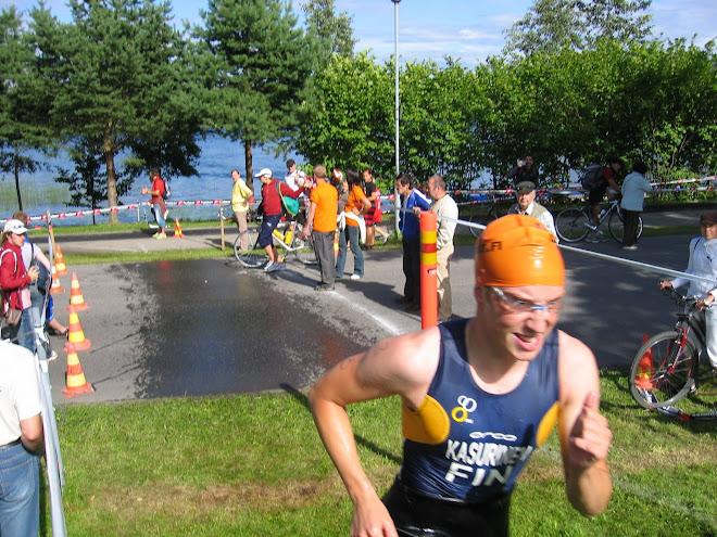 Uimasta Kuopion EM:ssä