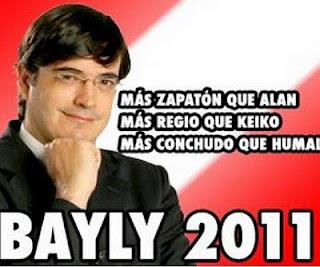 ACERCA DE LA CANDIDATURA PRESIDENCIAL DE JAIME BAYLY