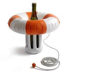 Flotador para botellas