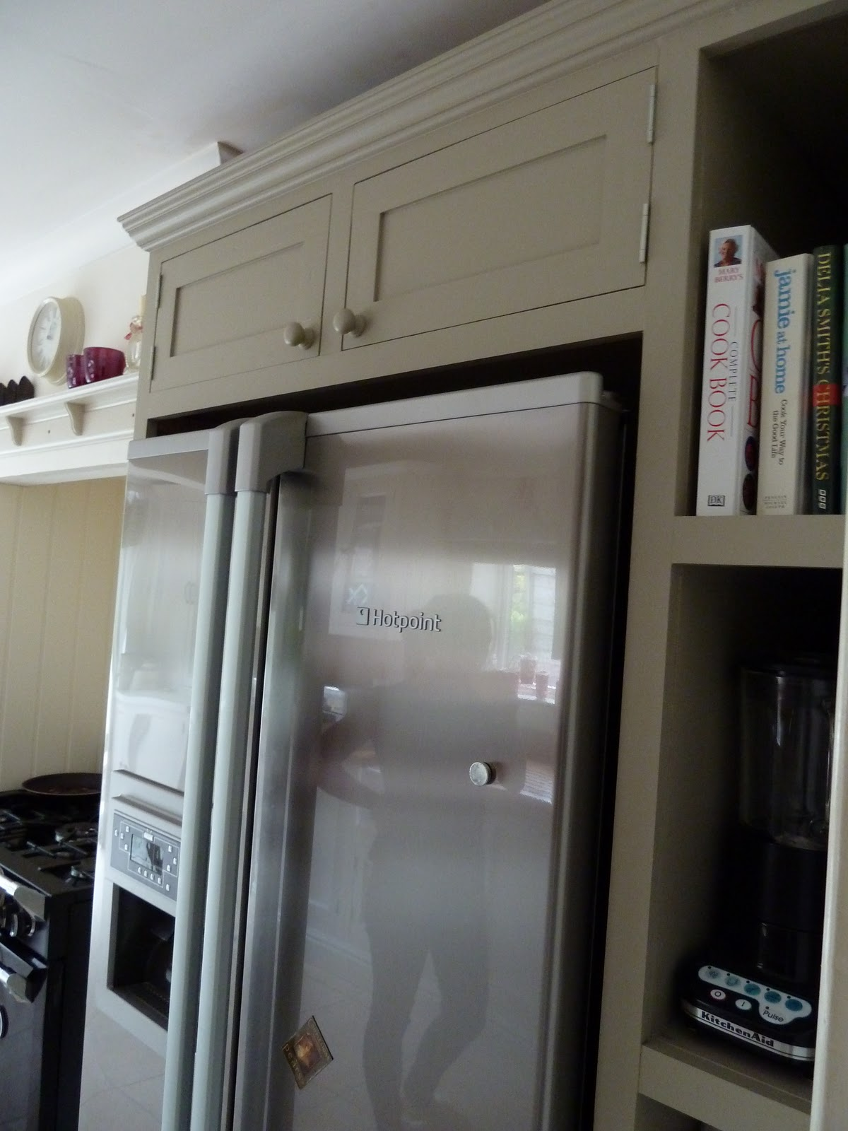 Farrow and Ball Painted Kitchen Cabinets
