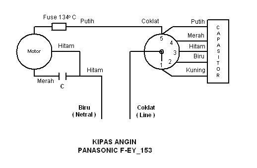 Elektronika _ Listrik: Pengawatan Kipas Angin