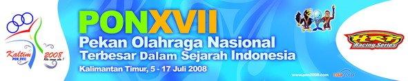 Sponsor Resmi PON XVII Kaltim 2008