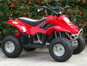 the atv and side by side blog: another promising electric