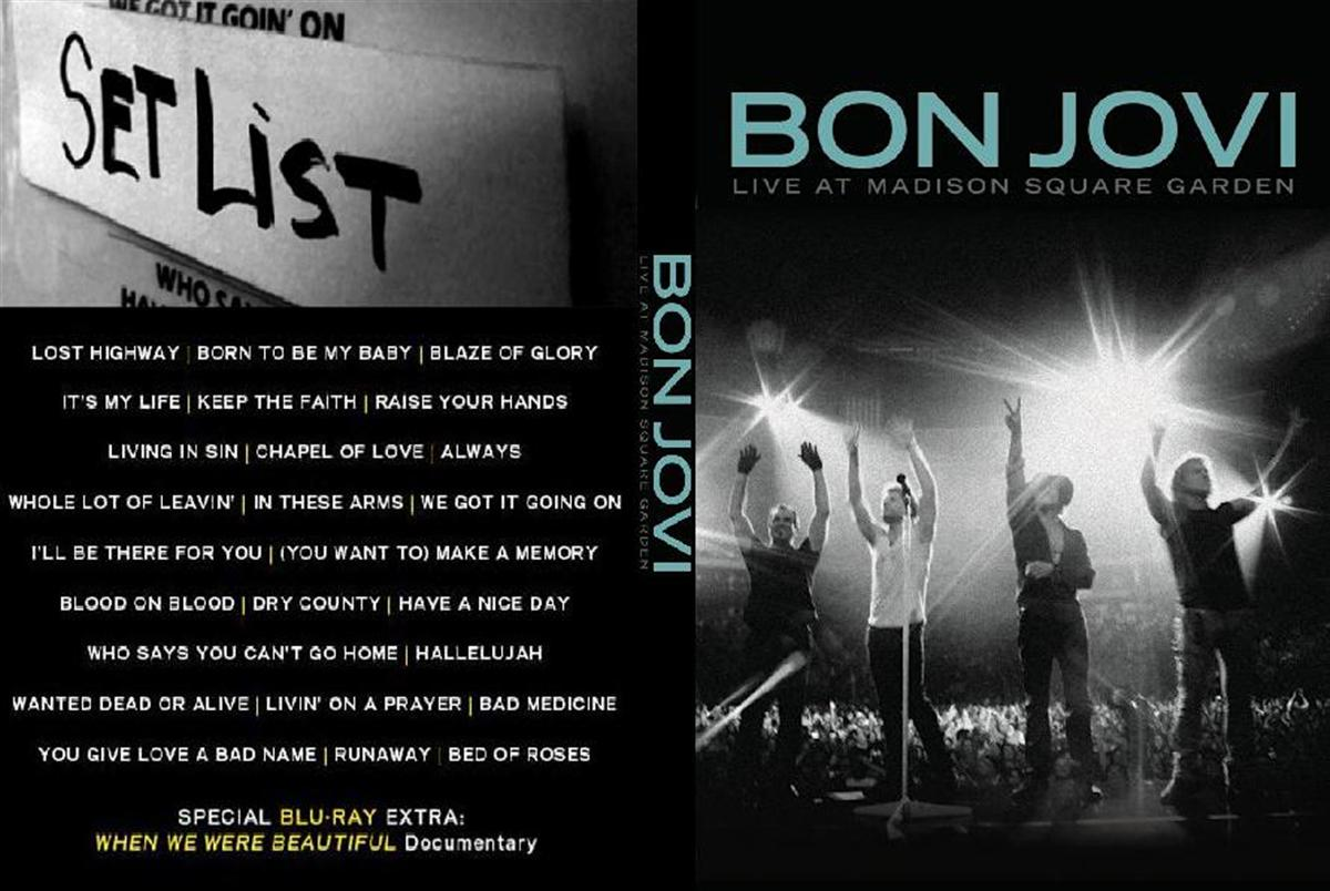 The Screen Door Dvd Review Bon Jovi Live At Madison Square Garden