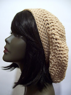 Knots and Loops  Easy Slouchy Hat Crochet Pattern (revised) 5c396a75825