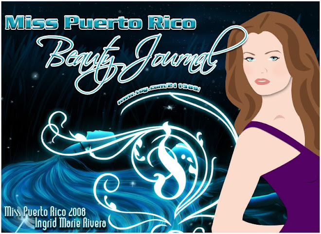 MISS PUERTO RICO BEAUTY JOURNAL