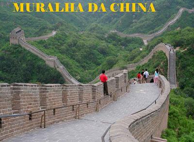 Sobre tudo um pouco 10 curiosidades sobre a muralha da china for A muralha da china vista da lua