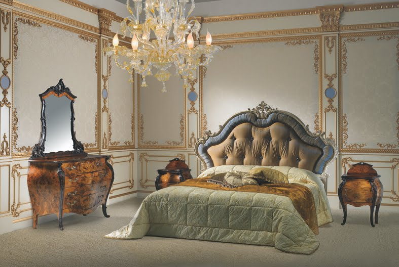 Rococo Style - Classic Bed Room French Design
