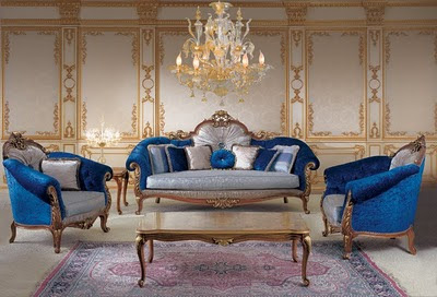 Sofa Set In Victorian Style Victorian Salon Furniture