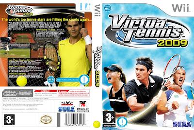Consola Nintendo Wii Gratis Caratula Dvd Juego Wii Virtua Tennis 2009