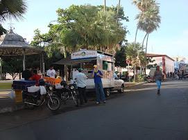 Infração na Praça Ipiranga