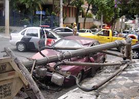 Acidente em São Paulo