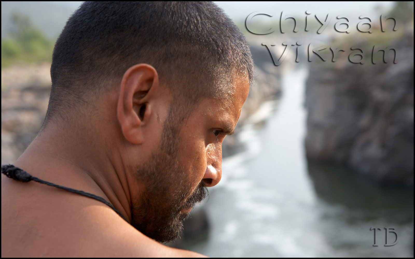 Vikram Widescreen Wallpapers From Raavan (Villain